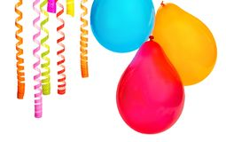 Bunch of colorful balloons on background. Colorful bunch balloons fun red yellow group stock images