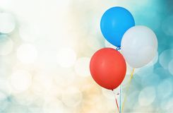 Colorful balloons on background. Colorful bunch balloons fun red yellow group stock images