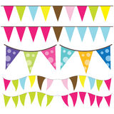 Colorful Bunting Stock Images