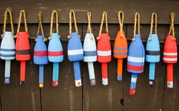 Free Colorful Buoys Stock Images - 45107534