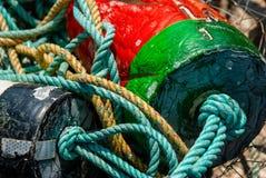 Crab Pot Gear stock photography