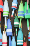 Colorful buoys Royalty Free Stock Image