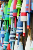 Colorful buoys Stock Photography