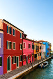Colorful Burano Stock Images