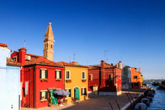 Colorful Burano Stock Image