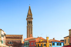 Colorful Burano. Stock Photography