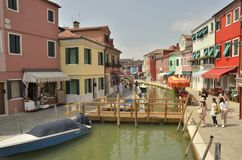 The colorful Burano Stock Photography