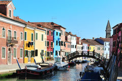 Colorful Burano, Italy Royalty Free Stock Photography