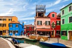 Colorful Burano Royalty Free Stock Photo