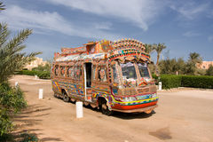 Free Colorful Bus Stock Image - 9264051