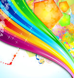 Colorful Business Background for Flyers Royalty Free Stock Photo