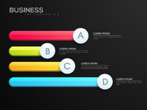 Colorful Business Infographic layout. Royalty Free Stock Images