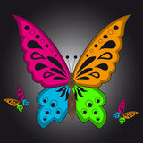Colorful Butterfly Royalty Free Stock Photography
