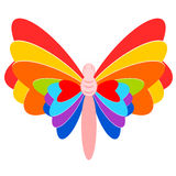 Colorful butterfly  Stock Photos