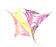 Colorful Butterfly Artwork Stock Photography