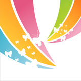 Colorful butterfly background Stock Photo