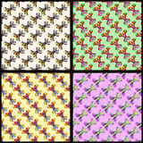 Colorful butterfly background collection of vector illustration. (vector eps 10 Stock Image