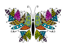 Colorful butterfly for your design Royalty Free Stock Image