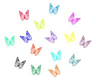 Colorful butterflys Royalty Free Stock Image