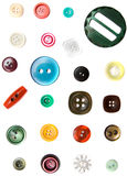 Colorful button. On white background Royalty Free Stock Photography