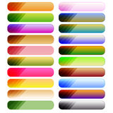 Colorful button collection Stock Photography