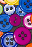 Colorful buttons. A bunch of brightly colored buttons Stock Image