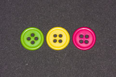Colorful buttons. A bunch of brightly colored buttons Stock Photos