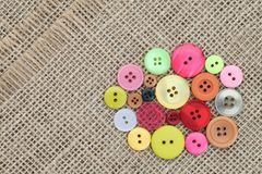Colorful buttons Royalty Free Stock Image