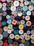 Colorful Buttons. The photography was taken in Lefkosa (Nicosia), North Cyprus stock illustration