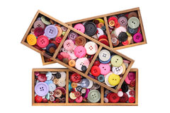Colorful buttons Stock Image