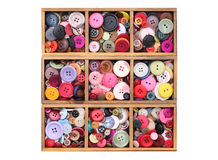 Colorful buttons Stock Photos