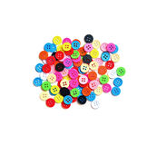 Colorful buttons on  background Royalty Free Stock Image