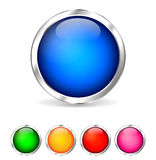 Colorful buttons Stock Photography