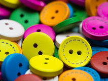 Colorful buttons closeup Stock Photo