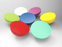 Colorful buttons Royalty Free Stock Photography