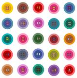 Colorful Buttons Seamless Pattern Royalty Free Stock Images