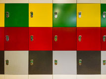 Colorful cabinet Stock Photos
