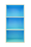 Colorful cabinets on isolated background. Royalty Free Stock Images