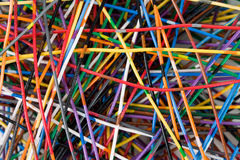 Colorful Cable Royalty Free Stock Photography