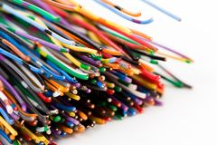 Colorful Cable royalty free stock images