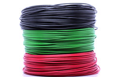 Colorful cable Stock Photography