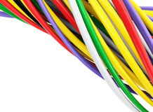 Colorful cables Royalty Free Stock Photos