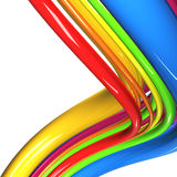 Colorful cables Stock Images