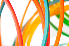 Colorful cables Royalty Free Stock Photo