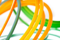 Colorful cables Stock Photos