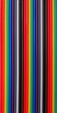 Colorful cables. Colorful computer's cables, abstract background Stock Image