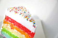 Colorful Cake Royalty Free Stock Photography