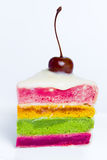 A colorful cake Royalty Free Stock Image