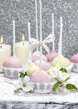 Colorful cake pops, birthday party. Stock Photos