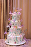 Colorful Cake, Wedding Royalty Free Stock Photos